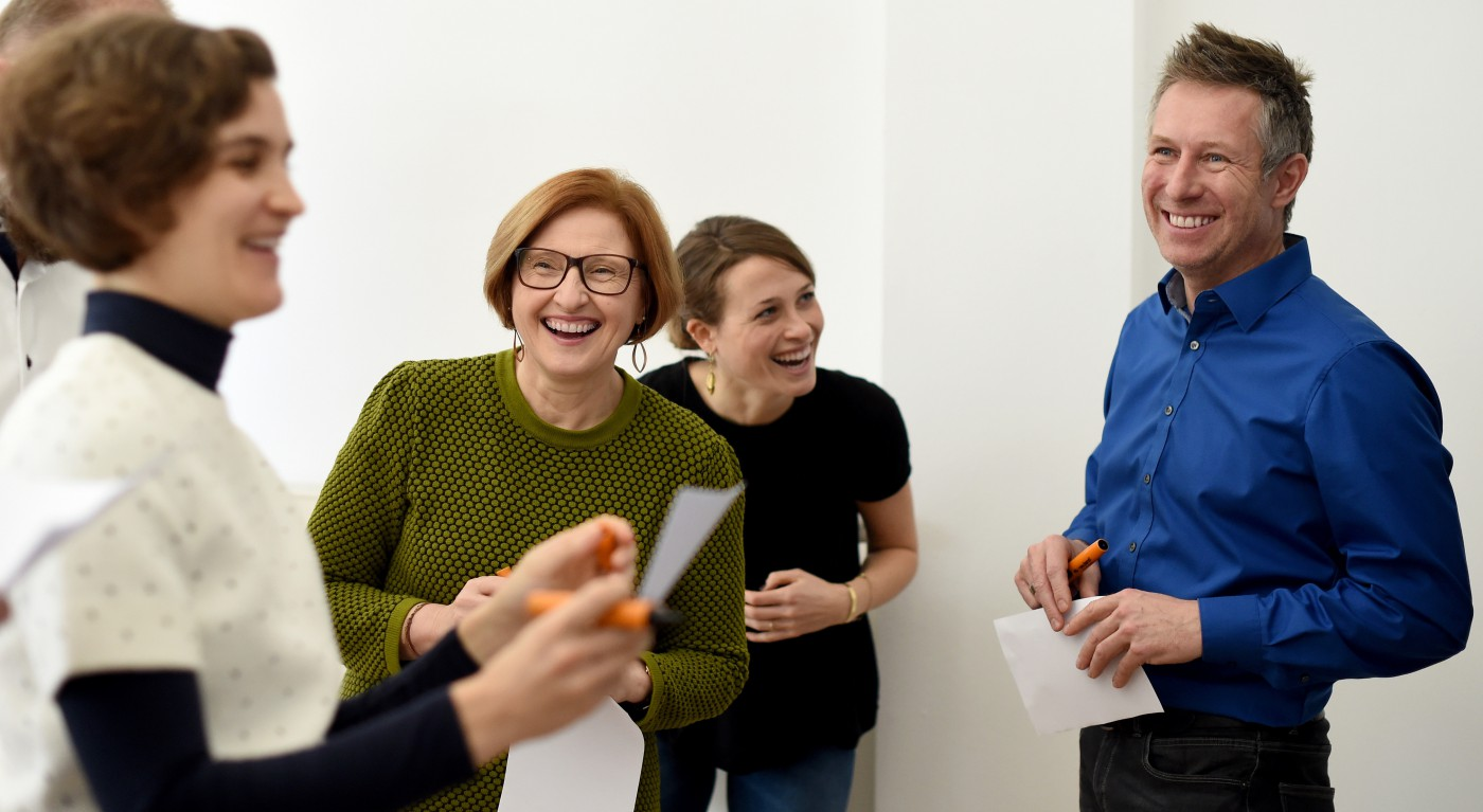 Carola Keitel, Roswitha Vesper, Amelie Vesper, Holger Scholz